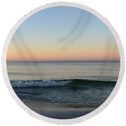 Sunrise On Alys Beach Round Beach Towel by Julia Wilcox