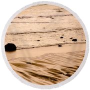 Sunset Palette Wreck Beach Round Beach Towel