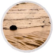 Sunset Palette Wreck Beach Round Beach Towel