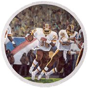 Superbowl Xii Round Beach Towel