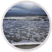 Surf And Beach Round Beach Towel