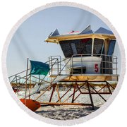 Surf Rescue Round Beach Towel