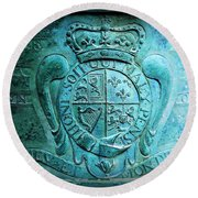 Surrendered And Silent Round Beach Towel