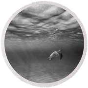 Suspended Animation. Round Beach Towel