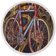 Swallow Bespoke Bicycle Round Beach Towel
