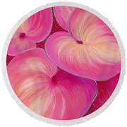 Sweet Tarts II Round Beach Towel