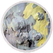 Sycamore Camouflage Round Beach Towel