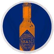 Tabasco Sauce 20130402grd2 Round Beach Towel