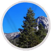 Tahquitz Rock - Lily Rock Round Beach Towel