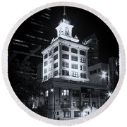 Tampa's Old City Hall Round Beach Towel