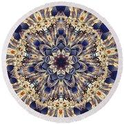 Tapestry Mandala Round Beach Towel