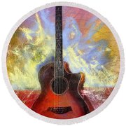 Taylor Round Beach Towel