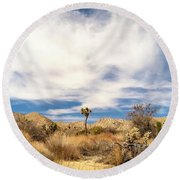 Joshua Beauty Round Beach Towel