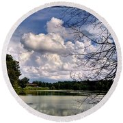 Tennessee Dreams Round Beach Towel by Chris Tarpening