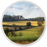 Tennessee Valley Round Beach Towel