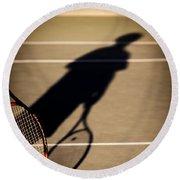 Tennis Round Beach Towel