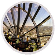 The 39th Floor - San Francisco Round Beach Towel
