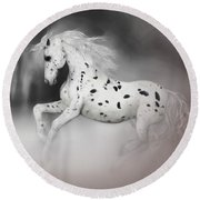 The Appaloosa Round Beach Towel