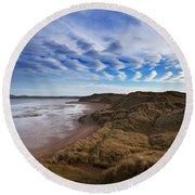 The Backstrand, Tramore, County Round Beach Towel