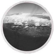 The Big Island Round Beach Towel