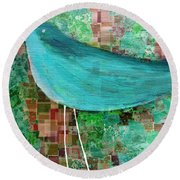 The Bird - 23a1c2 Round Beach Towel by Variance Collections