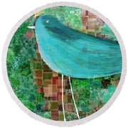 The Bird - 23a1c2 Round Beach Towel
