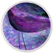The Bird - S40b Round Beach Towel