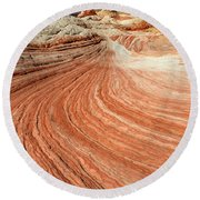The Brilliance Of Nature 3 Round Beach Towel by Bob Christopher