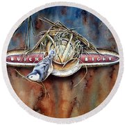 The Collector Round Beach Towel