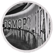 The Cosmopolitan Hotel Las Vegas By Diana Sainz Round Beach Towel