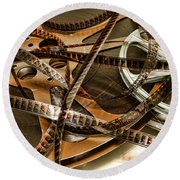 The Days Of Film Round Beach Towel