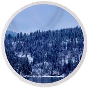 The Dusting Round Beach Towel