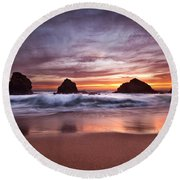The  Fantastic Four Round Beach Towel