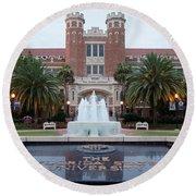 The Florida State University Round Beach Towel