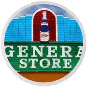 The General Store Round Beach Towel