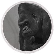 The Gorilla Round Beach Towel