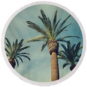The Gossips2 Round Beach Towel