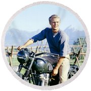 The Great Escape Round Beach Towel
