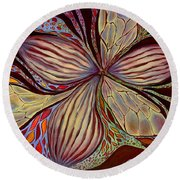 The Great Pollination Round Beach Towel