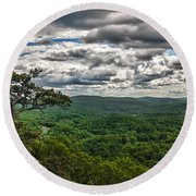 The Great Valley Round Beach Towel