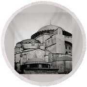 The Hagia Sophia Round Beach Towel