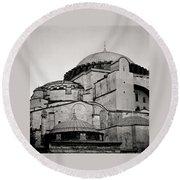 The Hagia Sophia Round Beach Towel