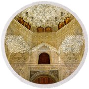 The Hall Of The Arabian Nights 2 Round Beach Towel