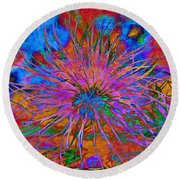The Heart Of The Matter.. Round Beach Towel