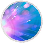 The Inner Light Round Beach Towel