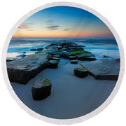 The Jetty Round Beach Towel