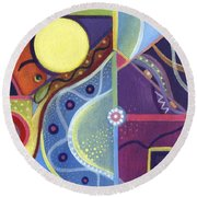 The Joy Of Design Xl Round Beach Towel