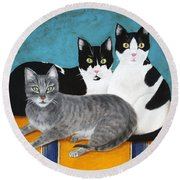 The Kids Round Beach Towel