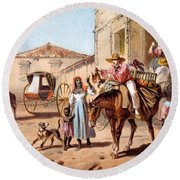 The Landlord, 1840 Round Beach Towel