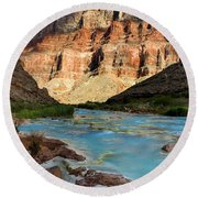 The Little Colorado  Round Beach Towel